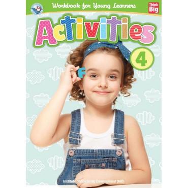 ACTIVITIES BOOK 4 (เตรียมความพร้อม เล่ม 4 # พัฒนา IQ )