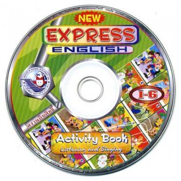 CD ประกอบกิจกรรมการฟัง NEW EXPRESS ENGLISH 1-6