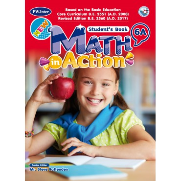 New Math in Action Student's Book 6A ป.6
