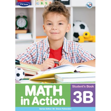 Math in Action Student's Book 3B ป.3